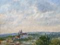 """Meißen vom Windberg"" 201840 x 45 cm, Öl auf Hafa"